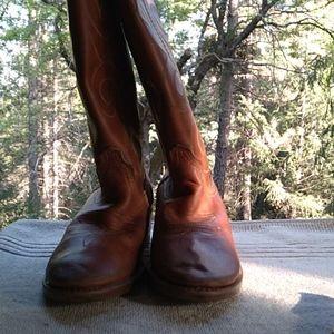 ACME vintage boots size 3 3/12